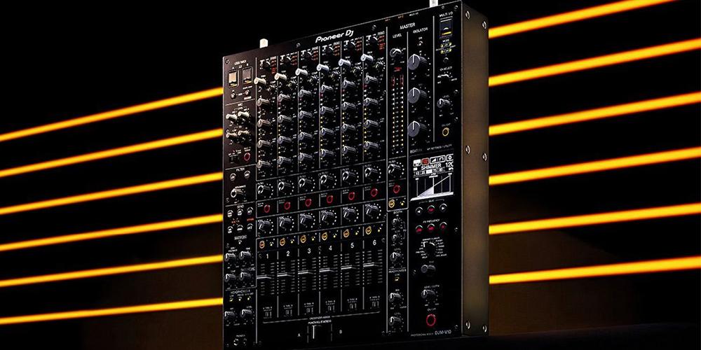 Pioneer DJ объявили о новом флагманском микшере DJM-V10